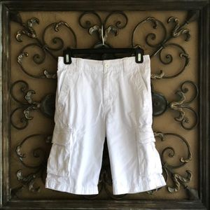 First Wave White Shorts Worn Once